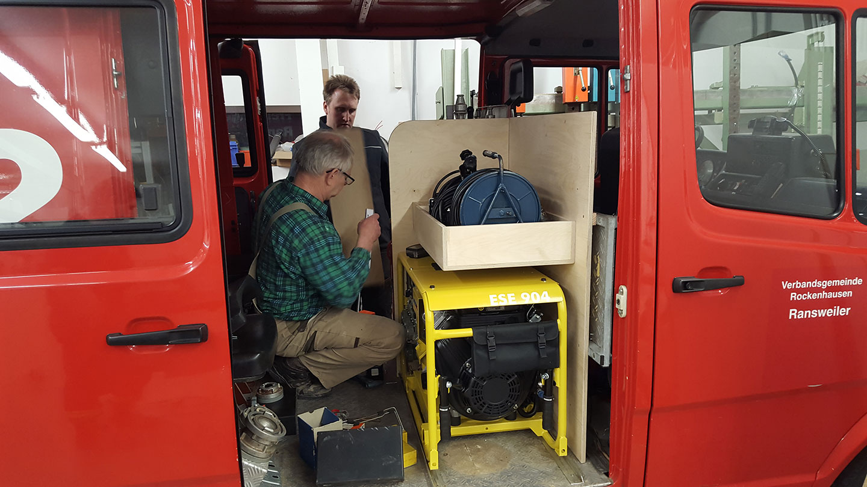 Umbau unseres Einsatzfahrzeuges