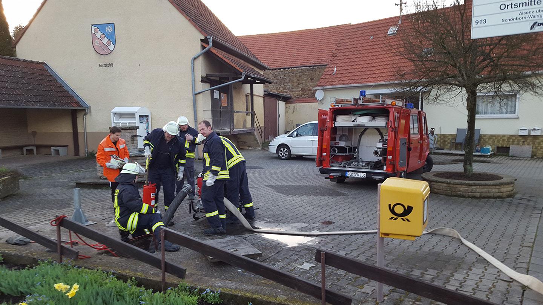 Feuerwehr Ransweiler in Bisterschied