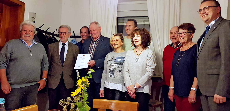 25 Jahre Ortsbürgermeister Sundheimer