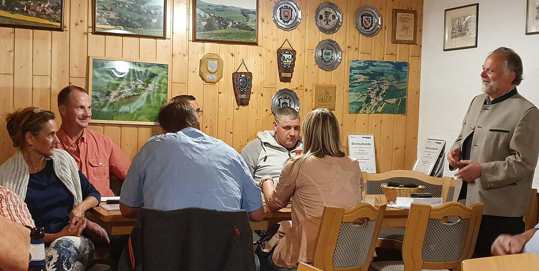 Neuer Ransweiler Gemeinderat bei seiner konstituierenden Sitzung