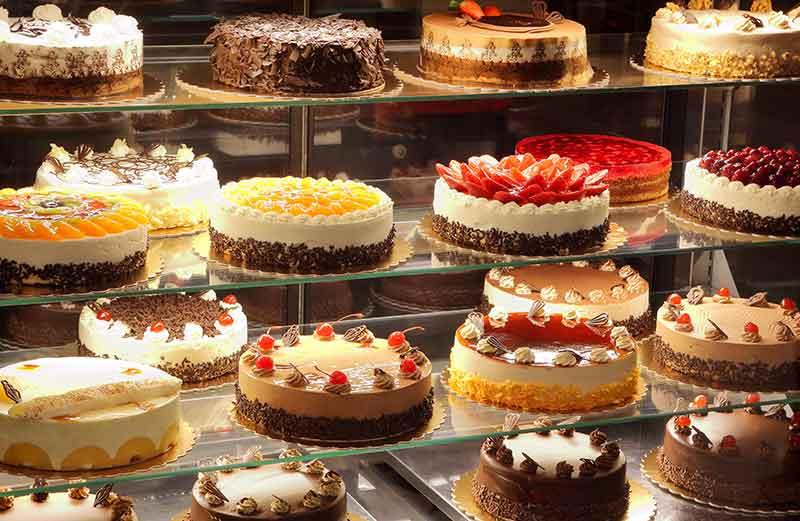 hausgemachte Kuchen und Torten von Rosis Frauentreff e.V. und von weiteren Ransweiler Hausfrauen