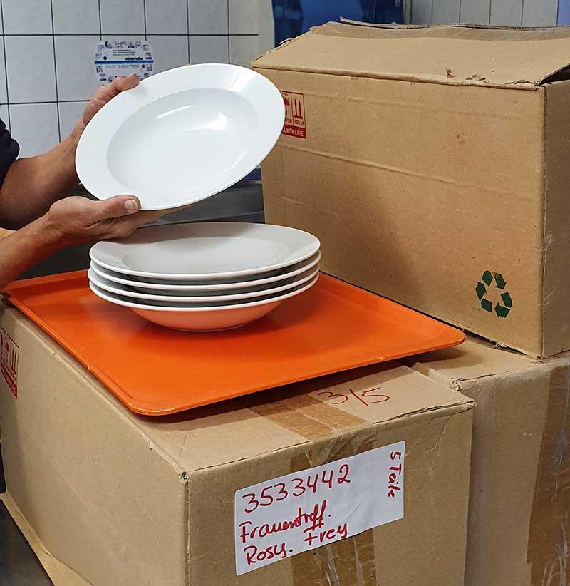 Frauentreff spendiert Suppenteller für die Gemeinde Ransweiler