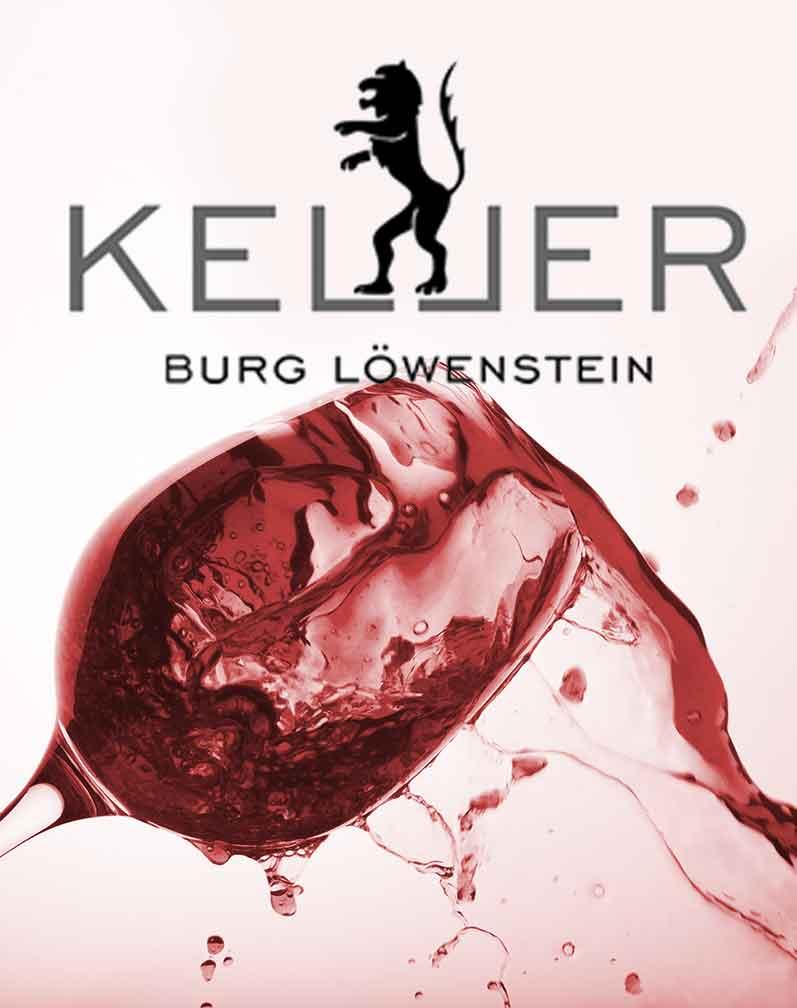 Weinstand vom Weingut Keller in Niedermoschel