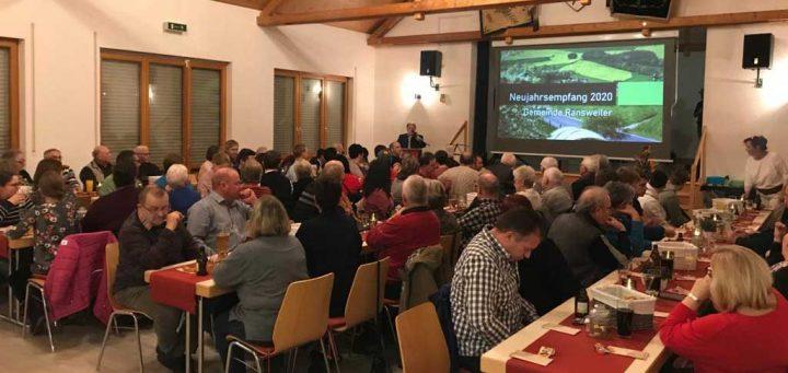 Neujahrsempfang 2020 im Bürgerhaus von Ransweiler